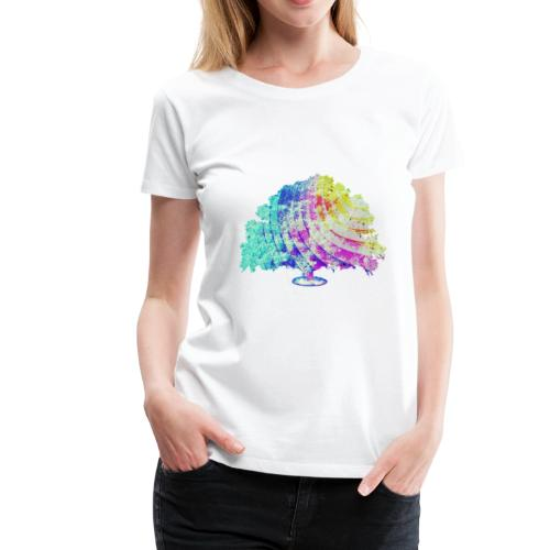 Sommarträdet - Premium-T-shirt dam