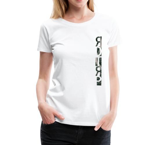 RDTRP - Roadtrip Illustration Motiv Colored - Frauen Premium T-Shirt