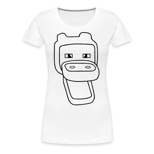 Block League official - Vrouwen Premium T-shirt