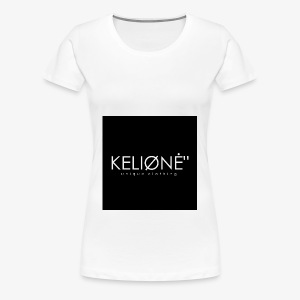 "Black KELIØNĖ ""design - Women's Premium T-Shirt"