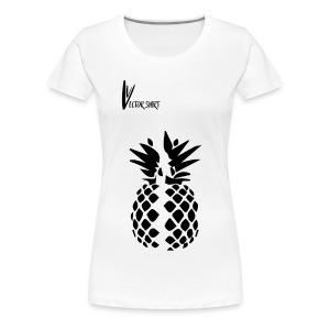 Broken Pineapple - Vector Shirt - T-shirt Premium Femme