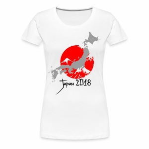 Japan 2018 - Premium T-skjorte for kvinner