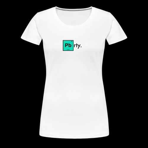 Chemistry Top. - Women's Premium T-Shirt