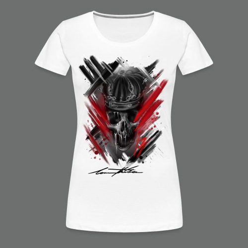 KINGS CROWN 1.0 - Frauen Premium T-Shirt