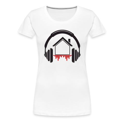mix at home Logo - T-shirt Premium Femme