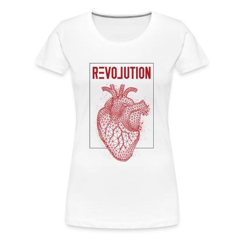 Love Revolution - Frauen Premium T-Shirt