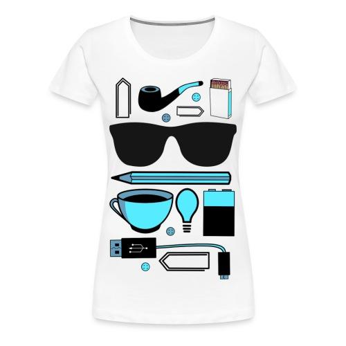 Alltag - Frauen Premium T-Shirt