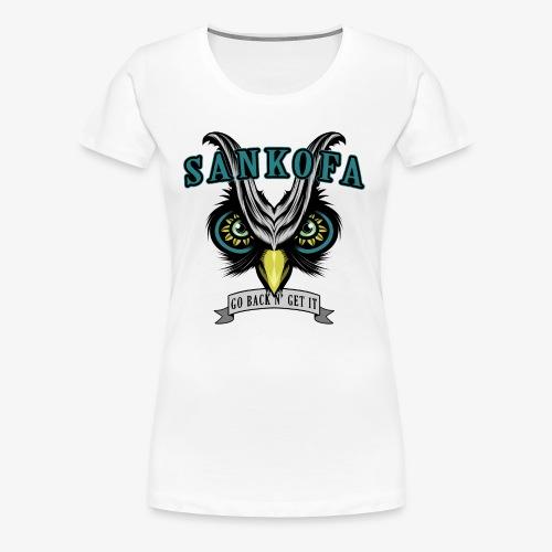 Sankofa Wisdom - Women's Premium T-Shirt