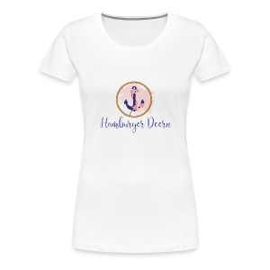 Hamburger Deern - Frauen Premium T-Shirt