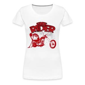 FREE RIDER - Camiseta premium mujer