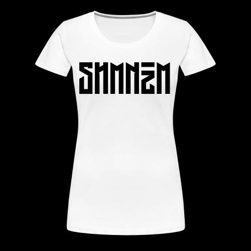 SHMNzM Basic - Maglietta Premium da donna