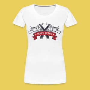 Angel Man's Beard - T-shirt Premium Femme