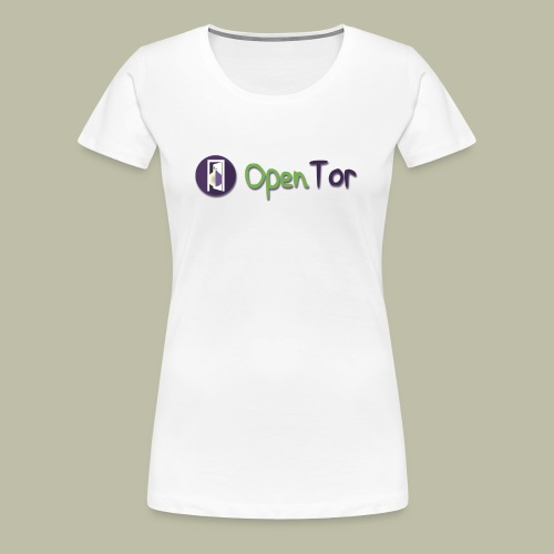 OpenTor Badge - Women's Premium T-Shirt