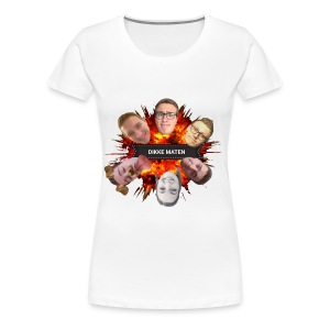 Dikke Maten boem - Vrouwen Premium T-shirt