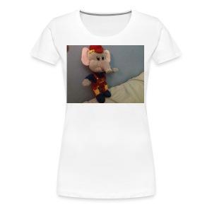 Elliot - Premium-T-shirt dam