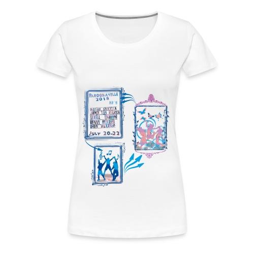 amazon parookaville - Frauen Premium T-Shirt