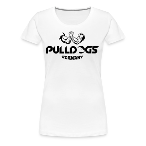 Pulldogs Germany Logo 2 Farbig - Frauen Premium T-Shirt