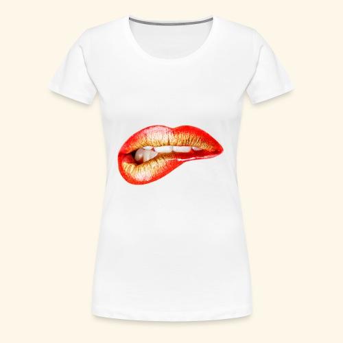 Lips - Maglietta Premium da donna