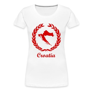 Connect ExYu Croatia Red Edition - Frauen Premium T-Shirt