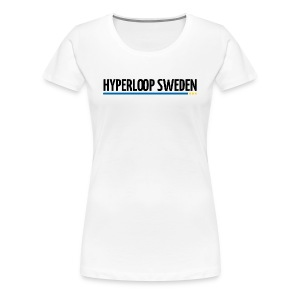 Hyperloop Sweden - Premium-T-shirt dam