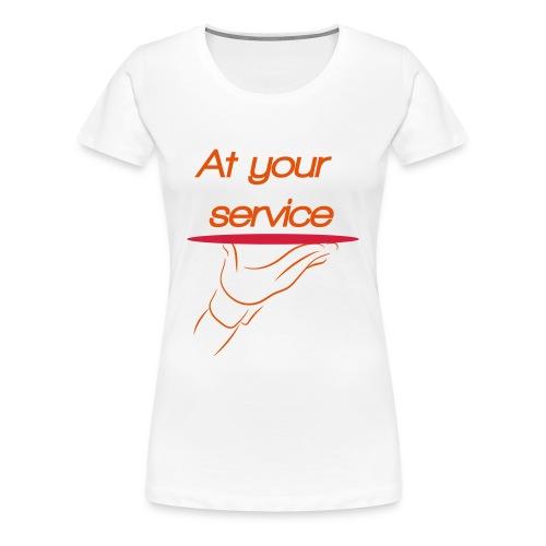 Ober - Vrouwen Premium T-shirt