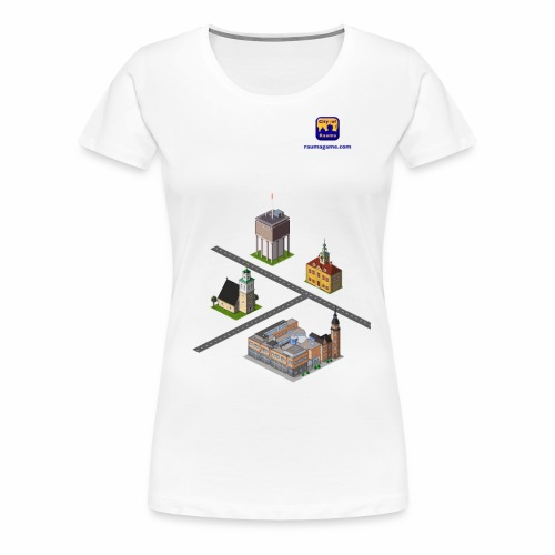 Raumagame mix for white / bale bg - Women's Premium T-Shirt