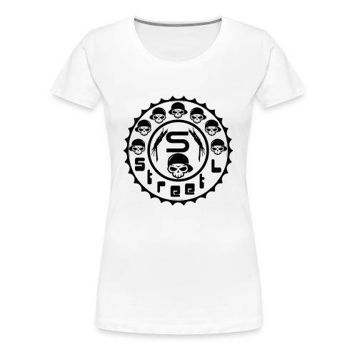 rawstyles rap hip hop logo money design by mrv - Koszulka damska Premium