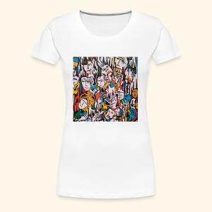 Les gens . - T-shirt Premium Femme