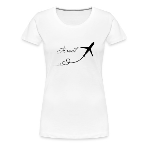 travel - Camiseta premium mujer