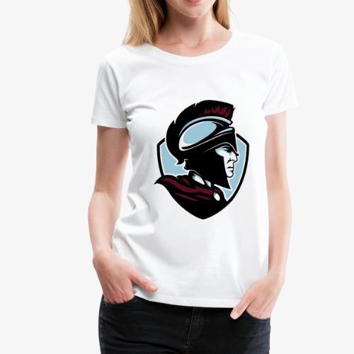 Logo färg - Premium-T-shirt dam