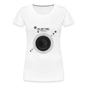 Electro Sound - Maglietta Premium da donna