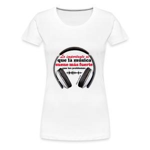 LO IMPORTANTE - Camiseta premium mujer
