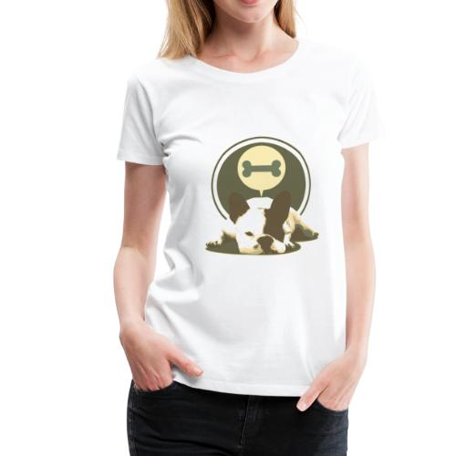 Lazy Dog - Frauen Premium T-Shirt