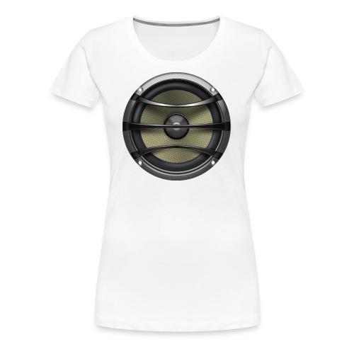 Lautsprecher - Frauen Premium T-Shirt