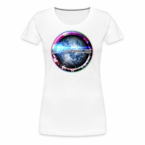 Sapple Space Design - Frauen Premium T-Shirt