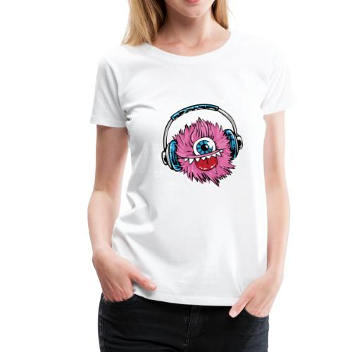 pink monster - Frauen Premium T-Shirt