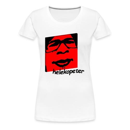 Helekopeter new logo - Premium T-skjorte for kvinner