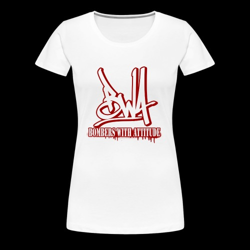 BWA-Bombers with attitude - Frauen Premium T-Shirt