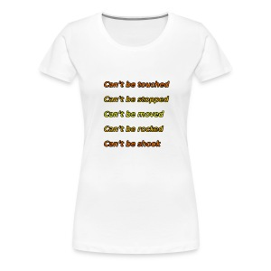 Cant be touched Roy Jones - Frauen Premium T-Shirt