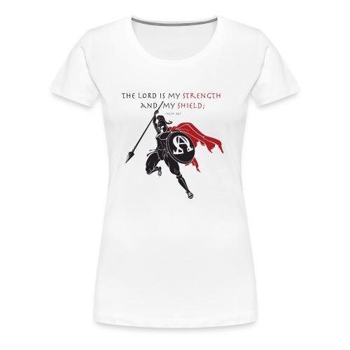 Christian Warrior - Frauen Premium T-Shirt