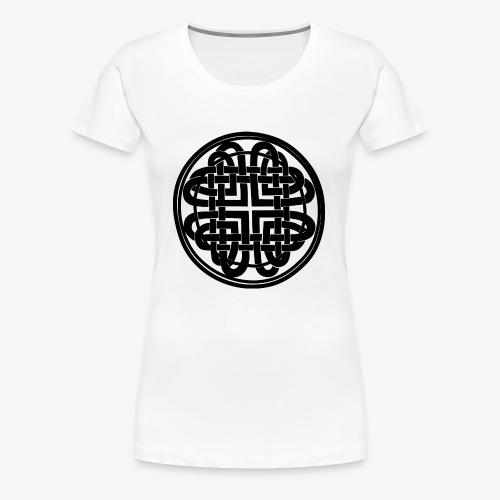 nudo celta negro - Camiseta premium mujer