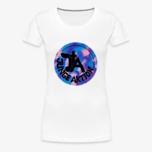 LLENA blau schwarz - Frauen Premium T-Shirt