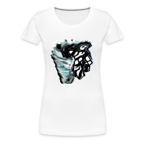 espectro de viento - Camiseta premium mujer