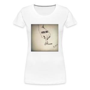 DerHardstyle.ch Hard_Core Techno - Frauen Premium T-Shirt