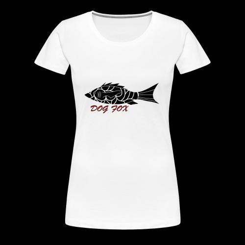 Dogfox Fisch - Frauen Premium T-Shirt