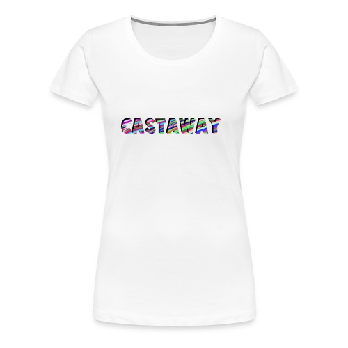 Castaway Waves - Women's Premium T-Shirt