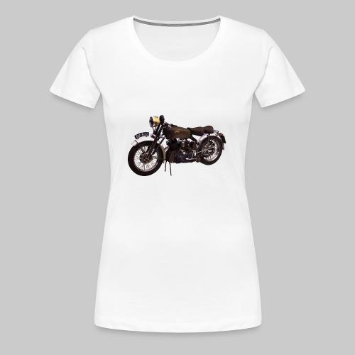 Black Shadow vintage motor bike - Women's Premium T-Shirt