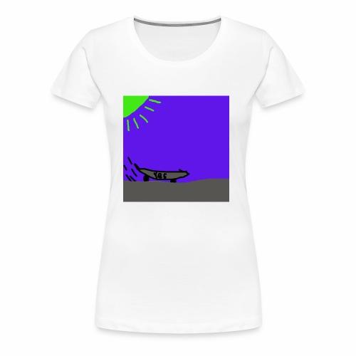 Skate! - Premium-T-shirt dam
