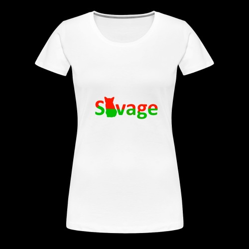 Savage Christmas Edition - Women's Premium T-Shirt