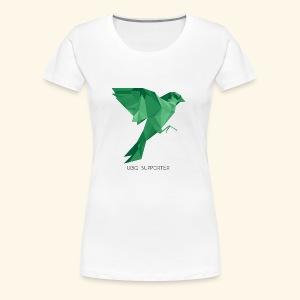 UBIQ Supporter Sparrow - Frauen Premium T-Shirt